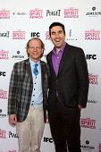 LOS ANGELES - FEB 23:  Bruce Cohen, Joe Gordon attend the 2013 Film Independent Spirit Awards at the