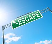 Escape Sign.