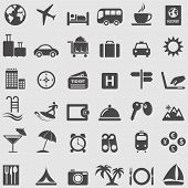 pic of internet-cafe  - Travel  and Tourism icons set - JPG