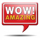stock photo of you are awesome  - wow factor - JPG