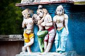 stock photo of meenakshi  - Hindu religious art - JPG