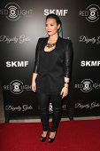 LOS ANGELES - OCT 18:  Demi Lovato at the Dignity Gala and Launch of Redlight Traffic App at Beverly