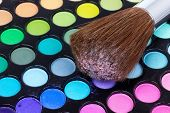 Professional Brush On Multicolour Eye Shadows Palette