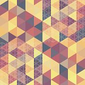 picture of parallelepiped  - Retro pattern o - JPG