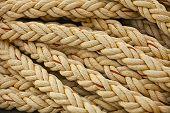 image of nautical equipment  - Vintage nautical knots - JPG