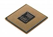 picture of processor  - the multinuclear processors. modern computer processor isolated