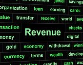 pic of revenue  - Revenue Earnings Representing Revenues Employed And Wage - JPG