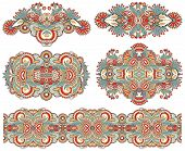 pic of adornment  - ornamental decorative ethnic floral adornment - JPG