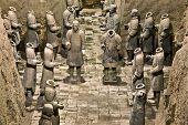 pic of qin dynasty  - Terracotta warriors in armor - JPG