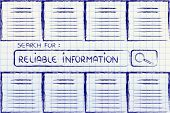 picture of ebusiness  - information overload reliable sources and searching for online documents - JPG