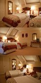 Luxury Master Cozy Bedroom Furniture Lights On poster