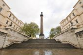 pic of duke  - Duke of York column statue and steps in London UK - JPG
