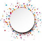 stock photo of bubbles  - Colorful celebration background - JPG