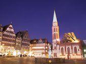 stock photo of frankfurt am main  - Romer in Frankfurt am Main city - JPG
