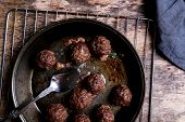 stock photo of meatball  - Cooking - JPG