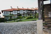 "foto of chateau  - ""Chateau Rubaiyat"" in the village of Medovo is a tourist complex near Black Sea for wine connoisseurs and romantic experiences who wish to immerse themselves in the Bulgarian lifestyle - JPG"