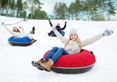 stock photo of snow-slide  - winter - JPG