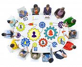 stock photo of team  - Community Business Team Partnership Collaboration Support Concept - JPG