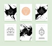 foto of placard  - Set of Business Card Templates - JPG