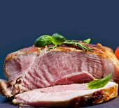 foto of loin cloth  - Bacon block boiled in low temperaturee - JPG