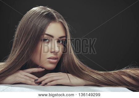 Lady With Long Hair