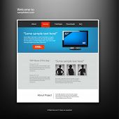 Website Design-Templates, Vector.