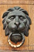 Doorknocker With Head Of Lion