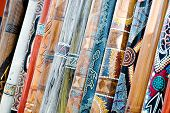 foto of didgeridoo  - Several long didgeridoos from Australia for sale - JPG