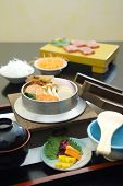 stock photo of shabu  - set menu of shabu - JPG