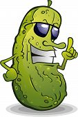 image of you are awesome  - An awesome pickle with some serious attitude - JPG
