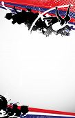 picture of pole-vault  - Abstract grunge pole vaulting background with space - JPG