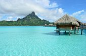 Luxury Overwater Vacation Resort On Bora Bora