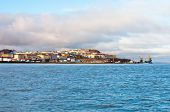 stock photo of chukotka  - General view of Anadyr town - JPG