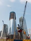 Construcción del World Trade Center, Nueva York