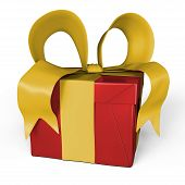 My Gift In Red And Yellow