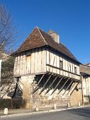 stock photo of ou  - The lodge of Guet ou Eschif which was part of the walls or Pergueux - JPG