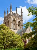 Merton College chapel,  Oxford University, England