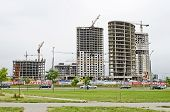 Construction Of A High-rise Buildings In Minsk