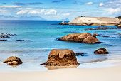 image of south-western  - Beautiful beach landscape - JPG