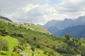 stock photo of engadine  - The Engadine valley  - JPG