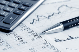 picture of analysis  - Financial accounting stock market graphs analysis  - JPG