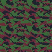 stock photo of camoflage  - Seamless military camouflage texture - JPG