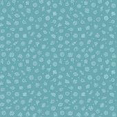 pic of germs  - Blue Seamless Pattern with Bacteria and Germs for Medical Design - JPG
