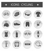 stock photo of bicycle gear  - Bicycles - JPG