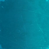 picture of scratch  - Old blue scratched paper card with halftone gradient - JPG