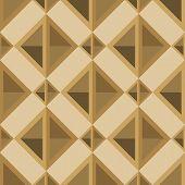 pic of rhombus  - rhombuses seamless pattern in retro palette - JPG