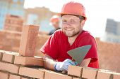 image of trowel  - construction worker - JPG