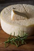 picture of french culture  - Still life with french goat cheese - JPG