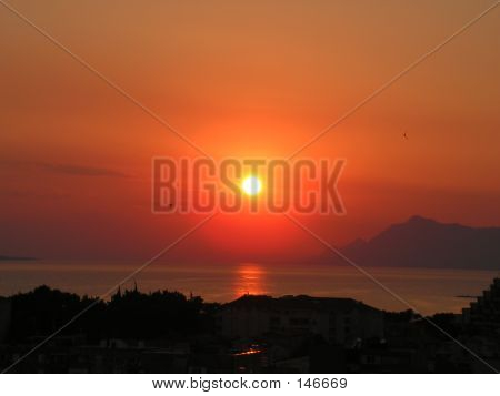 poster of Sunset Over A City