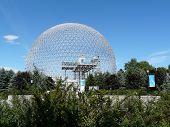 foto of geodesic  - The Biosphere in Jean - JPG